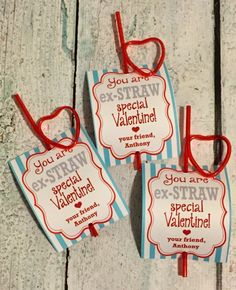 Glow stick valentines from teacher Kinder Valentines, Valentine Gifts For Kids, Homemade Valentines, Valentines Day Treats, Valentine Day Cards, Crazy Straw Valentine Printable, Valentine's Cards For Kids, Glow, Holidays