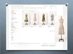 I feel sometimes that Anthropologie is the Mothership of Retro Redress!  http://www.anthropologie.com/