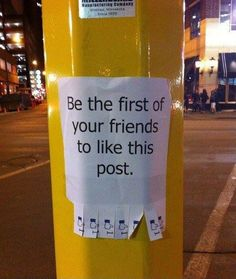 You don't have to be hightech to like a post!