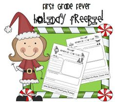 First Grade Fever!: Poppin' Into the Holiday Season! and some FREEBIES!
