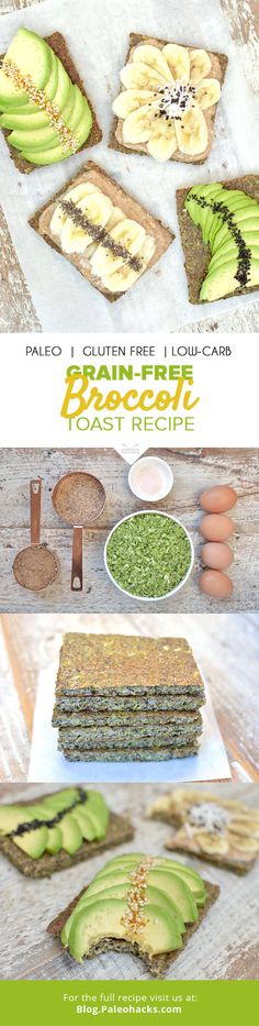 This colorful broccoli toast is a simple, grain-free breakfast alternative that's quick to make and calls for just five ingredients! For the full recipe, visit us here: http://paleo.co/broccolitoast