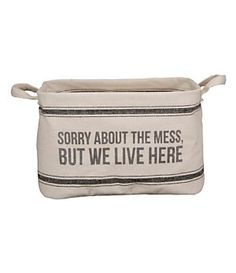Primitives By Kathy Sorry About The Mess Tote | Dillard's Mobile