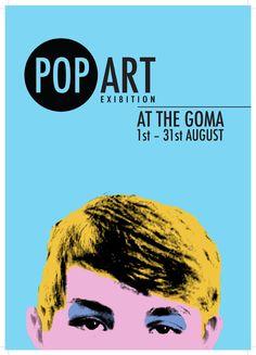 Graphic Design Pop Art Poster by Calum MacEachen