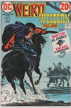Weird Western Tales: V1 15.  VF.Jan 1973. DC by RubbersuitStudios #comicbooks #nealadams