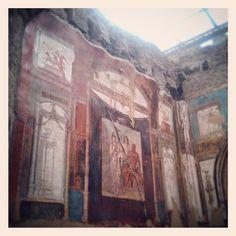 Magister Vitae Roman scaves of Herculaneum Ercolano scavi Napoli. Naples