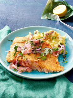 Köstliche Lachs-Variation: Ofen-Knusperlachs mit Sushi-Ingwer