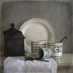 """Still Life With Black Pepper"" Tineke Stoffels (Olanda 1957)"