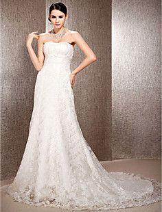 ADAMINA - Vestido de Noiva em Organza e Renda – EUR € 152.14