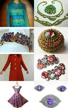 Lovely Vintage by Katie Kepfer on Etsy--Pinned with TreasuryPin.com #TeamLove #vintage #jewelry #Fashion #etsyretwt