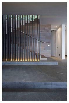 Harker Street House by Greg Wright Architects Stairs Modern Stair Railing, Modern Stairs, Modern Room, Modern Decor, Staircase Design Modern, Interior Stairs, Interior Architecture, Interior Design, Diy Design
