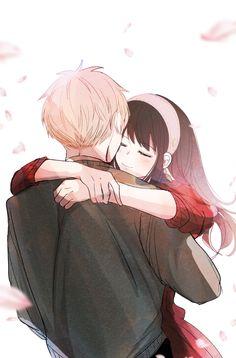 Spy Cartoon, Manga Anime, Anime Art, Romantic Manga, Anime Version, Couple Illustration, Angel Of Death, Cute Family, Gifs
