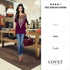Covet Fashion - 1950s Theme Party Shopping 🛩4.16 (3.97 from votes)