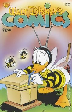 Walt Disney's Comics and Stories Dell/Gold Key/Gladstone) comic books Walt Disney Cartoons, Disney Movies, Disney Characters, Disney Best Friends, Mickey Mouse And Friends, Cartoon Bee, Cartoon Movies, Disney Images, Disney Pictures