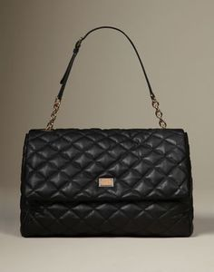 #DOLCE & GABBANA Fall/Winter 2013 Collection Large Black Leather Bag