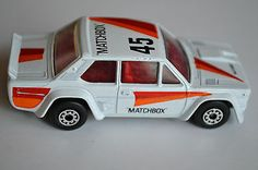 Matchbox Lesney Superfast No 74 Fiat Abarth Very Near Mint - http://www.matchbox-lesney.com/52344