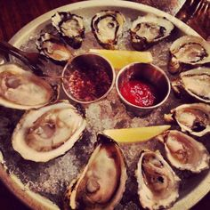 Portland. Save some time to slurp local oysters from the Pacific Northwest at Block + Tackle, a new casual seafood restaurant on SE Division Street.