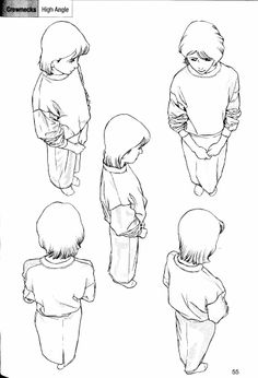 """Manga Drawing Techniques anatoref: """"People in Perspective Top Image Row Human Figure Drawing, Figure Drawing Reference, Body Drawing, Anatomy Reference, Art Reference Poses, Manga Drawing, Tutorial Draw, Top Image, Perspective Drawing"""