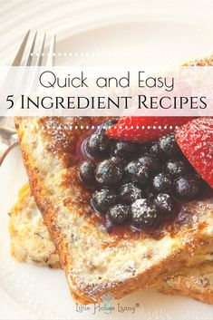 Quick Recipes, Easy Healthy Recipes, Easy Dinner Recipes, Healthy Snacks, Breakfast Recipes, Easy Meals For Two, Fast Easy Meals, Frugal Meals, Cheap Meals