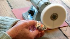 How to:  Sanding and Buffing  by Barbara McGuire #Polymer #Clay #Tutorials