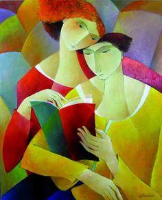 Ensemble - Françoise Collandre (Paris, born 1939)