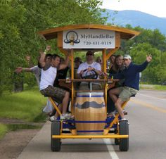 MyHandleBar- a fun and innovative way to get to bars/breweries in Fort Collins