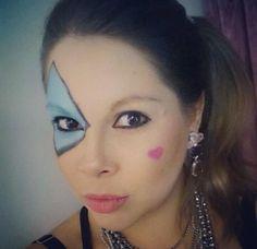 A @fabianeamorim, do Beauty Team da NYX Belém, virou uma linda pierrot