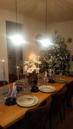 Chandelier, Ceiling Lights, Table Decorations, Lighting, Christmas, Furniture, Home Decor, Table, Dekoration