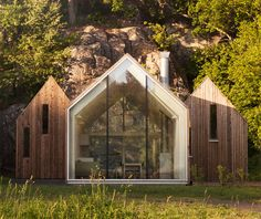Micro Cluster Cabins by Reiulf Ramstad Architects, image: Lars Petter Pettersen, Courtesy of Reiulf Ramstad Arkitekter