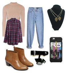 """""""Untitled #200"""" by rikerlynchsbae ❤ liked on Polyvore featuring Warehouse, Jonathan Simkhai and Madewell"""
