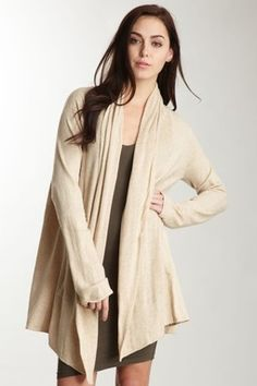 by Minnie Rose.  Cashmere duster.