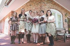 Megan and Oliver's DIY Detail-Rich Victorian Steampunk Wedding