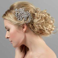 Vintage Flower Headpiece - Hair Accessories - Glitzy Secrets