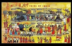 #India 2007 mnh ss, #butterflies, fairs of india, goa #carnival, elephants, music,  View more on the LINK: http://www.zeppy.io/product/gb/2/252723091746/