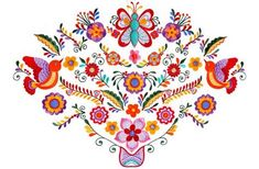 Cake decorating ideas-Mexican Embroidery - Socialphy