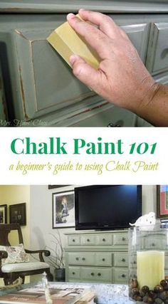 -How to: paint furniture with Annie Sloan Chalk Paint Are you tyring chalk paint for the first time? Don't miss these Tips and Tutorials for Painting Furniture with Chalk Paint at Mrs. Hines' Class See it Chalk Paint Kitchen, Using Chalk Paint, Chalk Paint Projects, Chalk Paint Techniques, Blue Chalk Paint, Paint Bathroom, Furniture Painting Techniques, Bathroom Sets, Bathroom Interior