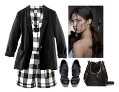 Divergent Candor by vampirliebling on Polyvore featuring H&M, Whit, Zara, Rachael Ruddick, divergent, fandom and candor