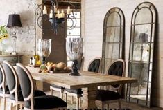 Fantastic Modern Farmhouse Dining Room Makeover Decor Ideas - Page 12 of 78 Farmhouse Dining Room Table, Dining Room Table Decor, Dining Room Design, Dining Room Furniture, Dining Area, Dining Rooms, Rustic Table, Couch Table, Room Chairs