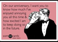 20 Wedding Anniversary Quotes For Your Husband funny anniversary messages for husband (Try Relations Funny Shit, Funny Humor, Funny Stuff, Hilarious Memes, Pms Humor, Drunk Humor, Ecards Humor, Nurse Humor, My Sun And Stars