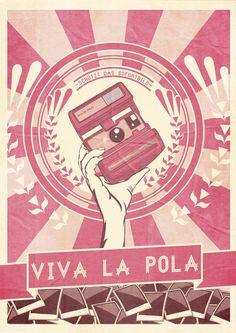 Viva La Pola- Retro Poster Illustration by Nick Schmidt