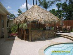 Really great Tiki Bar for the pool!