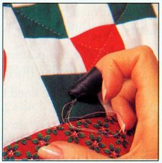 For those who don't have a sewing machine: How to quilt by hand