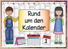 """Ideenreise: Themenplakat """"Rund um den Kalender"""""""