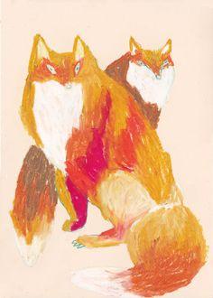 animal 2014.01 by machiko kaede, via Behance