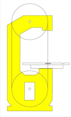 My DIY Bandsaw - 4th Shopmade Woodworking Tool #1: On the drawing board - The main Frame