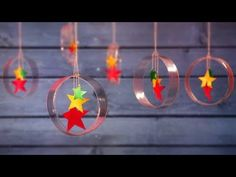 DIY Christmas Decorations from Plastic Bottle | Little Crafties - YouTube