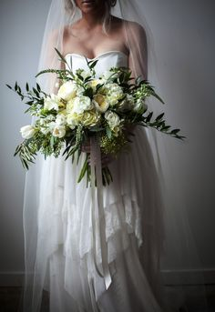 romantic green white garden rose wedding bouquet green white organic wedding bouquet utah florist calie rose mary claire photography