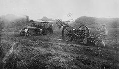Equipo mecánico y trabajadores de la Central del Carmen, Vega Alta, Puerto Rico (1910)