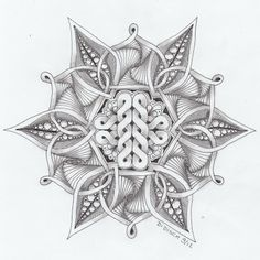 Didisch website: Celtic knot # 6 en Zendala dare 25