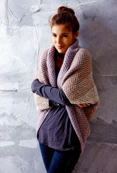 Most up-to-date No Cost knitting crochet poncho Suggestions Seelenwärmer shrug by Tanja Steinberg, free knitting pattern Free Knitting, Knitting Patterns, Crochet Patterns, Afghan Patterns, Knitting Machine, Amigurumi Patterns, Knitting Needles, Crochet Cardigan Pattern, Knit Crochet