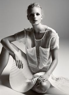 frederikke sofie by lasse wind for revs magazine! | visual optimism; fashion editorials, shows, campaigns & more!